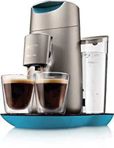 Philips HD7872/10 Senseo Twist Kaffeepadmaschine mit Touchdisplay Caribbean Blue
