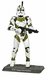 Star Wars–La Saga Collection–Basic Figure–Clone Trooper 442ND Siège Bataillon