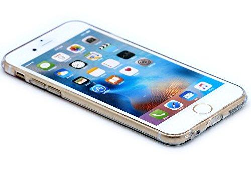 """IPhone 6 Case Cover iPhone 6S paysage Hamyi nature modèle cas Fine caisse de protection souple en Silicone TPU pour Apple iPhone 6/iPhone 6S (écran 4,7"""") Poteau indicateur"""
