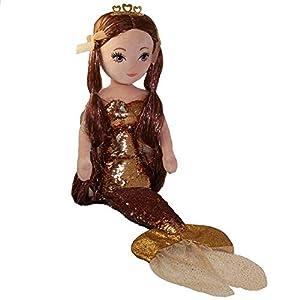 Ty 02405 Ginger Brown Sirena de Lentejuelas Grande