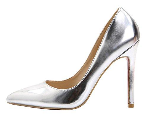 Guoar - Scarpe chiuse Donna (C-Silber)
