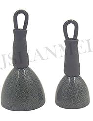 jshanmei® 2pcs/5pcs/10pcs Back Sinker pesos mate con revestimiento de camuflaje verde camuflaje para pesca de carpas seguro Clip (15g & 30g), 2pcs-30g