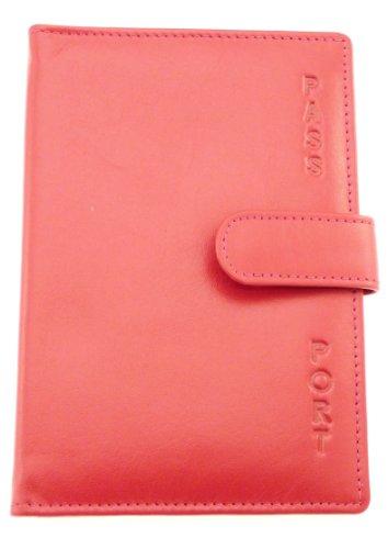 Mesdames véritable passeport en cuir souple Porte-passeport / carte de couverture