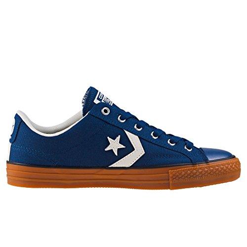 Converse Unisex-erwachsene Star Player Ox Navy / Garzetta / Honey Sneaker Blau (marina / Garzetta / Miele)