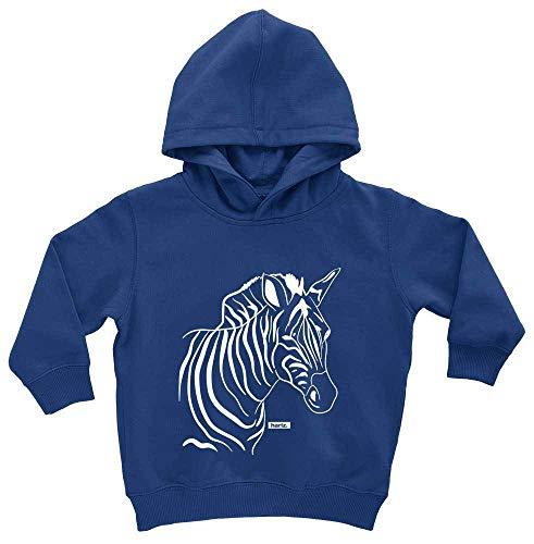 Des Kostüm Dschungels Baby König - HARIZ Baby Hoodie Zebra Süß Tiere Dschungel Plus Geschenkkarten Royal Königs Blau 1-2 Jahre