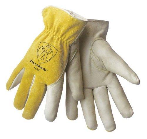 Top-grain-rindsleder-handschuhe (TILLMAN 1428Top Grain/Split Rindsleder Treiber Handschuhe, Medium, durch Tillman)