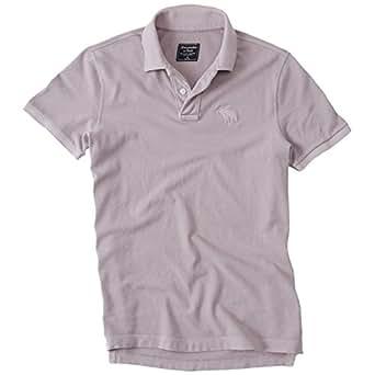 große Vielfalt Modelle Shop für authentische Neuankömmling Abercrombie Herren Garment Dye Slit Fit Big Icon Polo ...