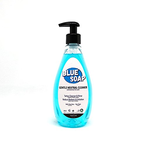 BLUE SOAP - BLUE Jabón Neutro Suave 500ml tattoo