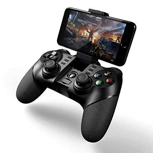 2018 New 2.4G Wireless Game Controllers With Bluetooth Wireless Gamepad For Android ios ps3 Game Controllers Player Win XP Tablet PC(black)