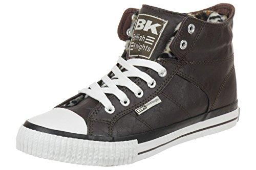 British Knights ROCO BK women trainer Sneaker 85739 dunkelbraun