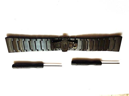 bracelet-en-metal-noir-pour-garmin-fenix-3-hr-et-sapphire-fenix-2-d2-quatix-et-tatix