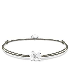 THOMAS SABO Damen Armband Little Secret Engel 925er Sterlingsilber LS037-401-5