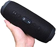 Charge 3 Portable Wireless Bluetooth Speaker With Powerful Bass - Black