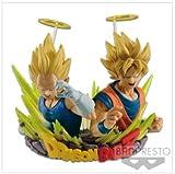 Dragon Ball Z com Figuration Gogeta Goku Vegeta Vol 2 BANPRESTO Prize Japan DBZ