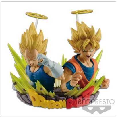 Z Spielzeug Ball Dragon Gogeta (Dragon Ball Z com Figuration Gogeta Goku Vegeta Vol 2 BANPRESTO Prize Japan DBZ)