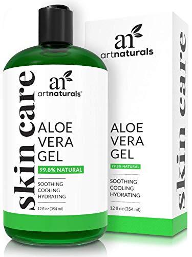 ArtNaturals Kaltgepresstes Aloe Vera Gel für...