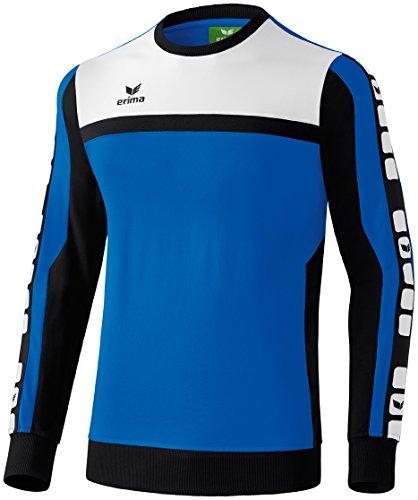 CLASSIC 5-CUBES Sweatshirt New Royal/Schwarz/Weiß