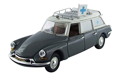 Rio - 4447 - Vehículo Ready - Modelo para la Escala - Citroën DS 19 Ambulancia Municipal - 1962 - 1/43 Escala