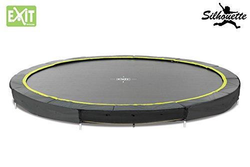 EXIT Silhouette Bodentrampolin 427 Durchmesser Trampolin 12941400