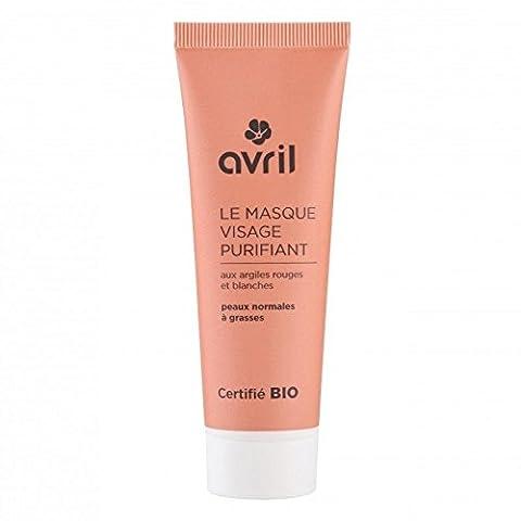 AVRIL - Masque Visage Purifiant 618 - pour Peaux Normales