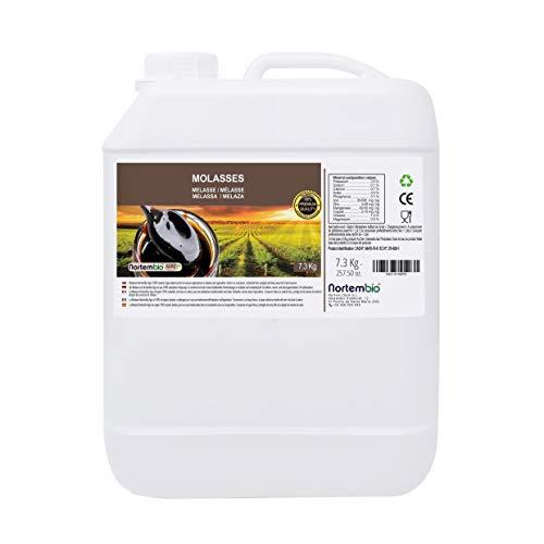 Nortembio Agro Melasse 7,3 Kg. 100% Natürlich. Begünstigt das Pflanzenwachstum. Universell Einsetzbar. Nicht geschwefelt. Entwickelt in Deutschland. -
