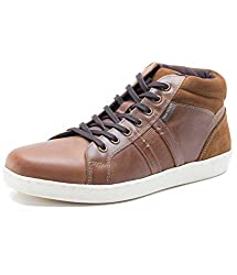 Red Tape Mens Tan Leather Boots - 6 UK/India (40 EU)