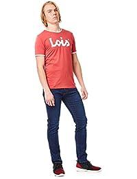 Lois Camiseta_Reds/Burgundy Hombre