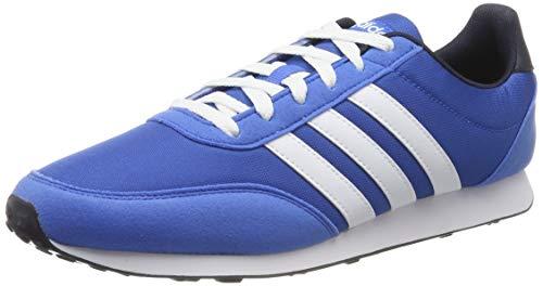 adidas V Racer 2.0, Zapatillas de Running para Hombre, Azul True Blue/FTWR White/Legend Ink, 43 1/3 EU