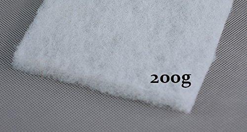 all4all Polsterwatte Vlieswatte Volumenvlies breit 1,6m 200g