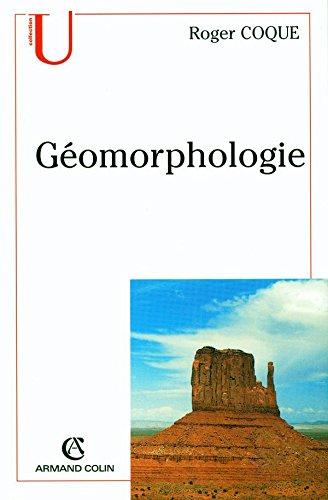 Géomorphologie