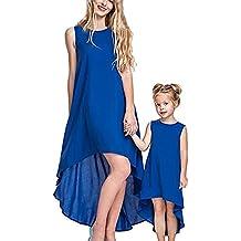 Vestido de niña Vestido de novia con madre e hija Vestido de niña con agua Mini