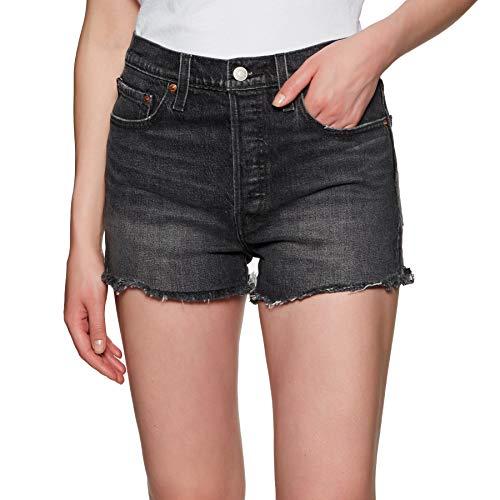 Levi´s ® Damen Shorts 501 HIGH Rise Kurze Hose Someones Thunder W32 (Levis Kurze Hosen)
