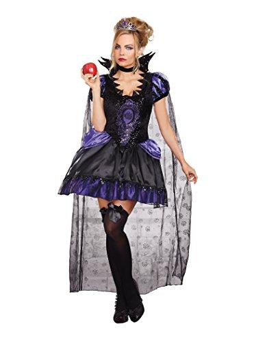 Dreamgirl 10287Evil Queen Kostüm (Fancy Kostüm Apple Dress)