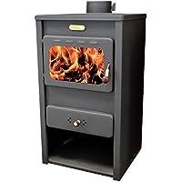 Estufa de leña Log quemador chimenea para calefacción kupro directa estilo