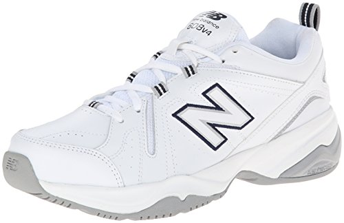 New Balance Women's WX608V4 Training Shoe White/Blue