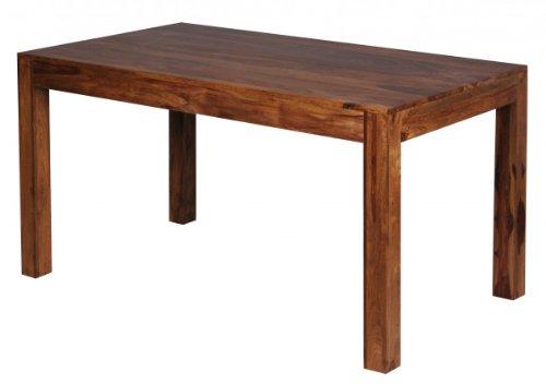 Home Collection24 Table à Manger Bombay de Design Bois Massif 140 x 80 x 76 cm – Table Salle à Manger Moderne Sheesham Palissandre pour 6–8 Personnes Bois Massif