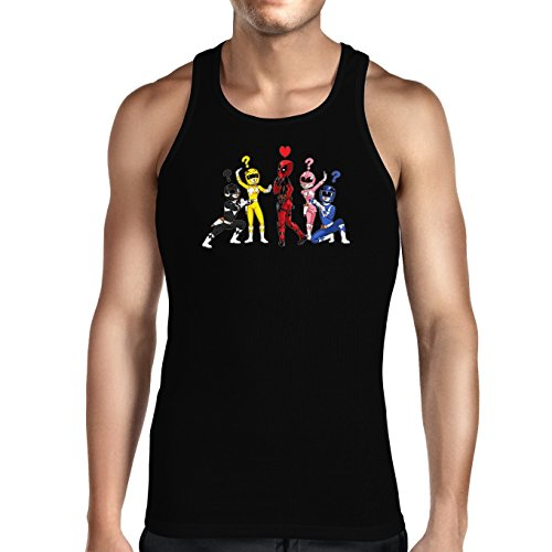 Parodie auf Deadpool As Red Ranger und Power Rangers Herren Tank Top (896)