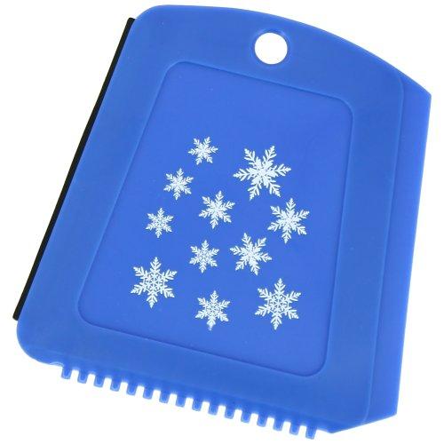 Preisvergleich Produktbild - Schaber Frost Triple Face 3 in 1 Raclette Geschirrschwamm Gel Auto blau