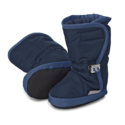 Bild von Sterntaler Jungen Baby-Schuh Stiefel, Blau (Marine), 21/22 EU