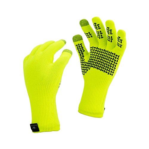 Seal Skinz Guanti Impermeabili, Ottima Presa, Unisex, Waterproof Ultra Grip, Yellow, M