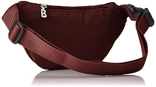 Bogner 2313215, Borsa Marsupio Donna, 5x12x29 cm Rosso (Carmine)