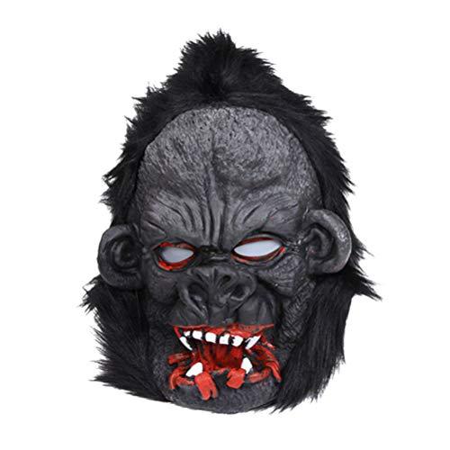 rty Gorilla Maske Cosplay Party Tier Latex Maske Masquarade Leistung Novely Maske Halloween Party Kostüm Requisiten ()