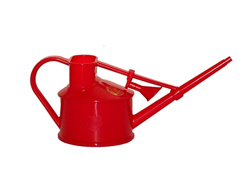 bosmere-v127r-haws-indoor-plastic-watering-can-red