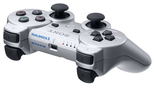 PlayStation 3 - DualShock 3 Wireless Controller, silber - Sony Wireless Ps3 Controller