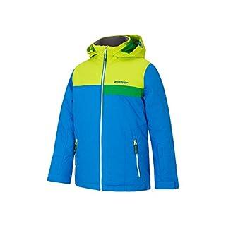 Ziener Kinder APLI jun (Jacket ski) Skijacke, Persian Blue, 176