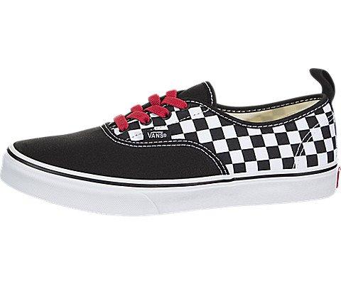 4685ca50b4 VANS Sneakers Authentic Elastic Nero Bianco Scacchi 8H4U3Z (35 - Nero)