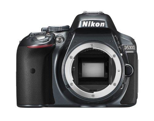 Nikon D5300 - Digitale Spiegelreflexkamera, anthrazit (DX-Format)