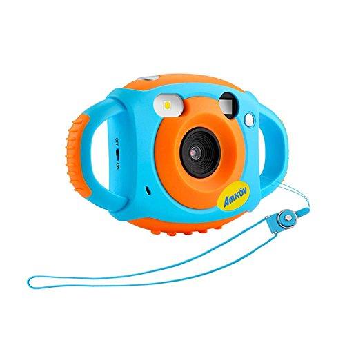 Miju Kids Camera, Camera Impermeabile, Mini Fotocamera Digitale HD, 12 Milioni di Pixel Accessori per Fotocamera Digitale Giocattolo per Bambine