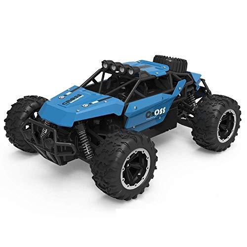 LIIYANN RC Auto 4WD High Speed   Off Road Fernbedienung Auto Anti-Sturz und Absturz 2,4 GHz All Terrain Radio Controlled Racing Monster Truck Perfekt für Kinder Jungen Best