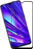 Lustree [Anti Glare] [scratch Proof] Full Coverage 5D Tempered Glass For Vivo U20- Black
